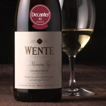 Wente Morning Fog 92 points decanter