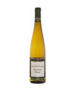 De Elzas pinot blanc van Domaine Fernand Engel is bijzonder vanwege de lange rijping met de schillen: Sur-lie. Engel is de voorloper van biologische wijnbouw in de Elzas en maakt spatzuivere wijnen van hoge kwaliteit. Een van de beste wijnboeren uit de Elzas en verkrijgbaar bij Wijnhandel Van Welie in Gouda