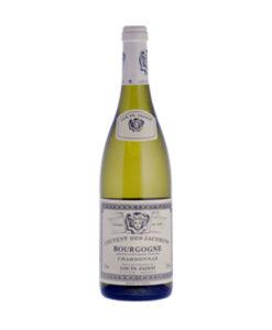 Louis Jadot Couvent des Jacobins Chardonnay uit de Bourgogne is al jaren de beste verkopende witte wijn uit de bourgogne die te koop is bij wijnhandel van Welie uit Gouda