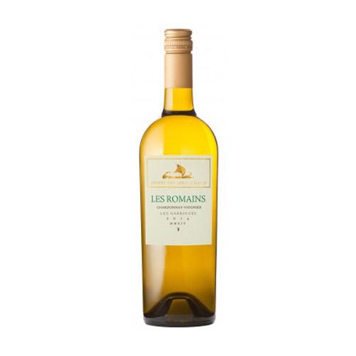 Les Romains Blanc Chardonnay Viognier Wijnhandel Van Welie Gouda