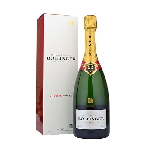 bollinger special cuvée brut in luxe